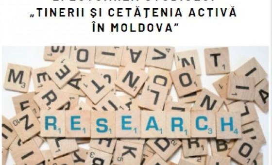 """CDEC anunță selectarea a doi cercetători sau a unei organizații pentru efectuarea studiului """"Tinerii și cetățenia activă în Moldova"""""""