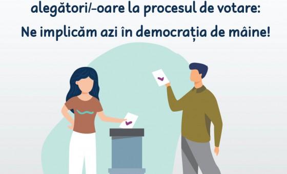 A fost lansată prima broșură informativă dedicată tinerilor alegători în cadrul alegerilor prezidențiale din 1 noiembrie 2020