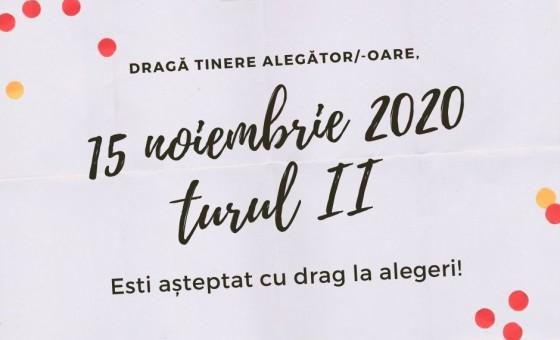 15 noiembrie 2020 are loc turul II al alegerilor prezidențiale în Republica Moldova